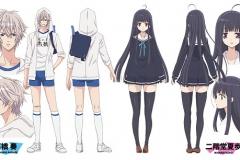 2_◆キャラクター設定(高橋奏・二階堂夏歩)公開!