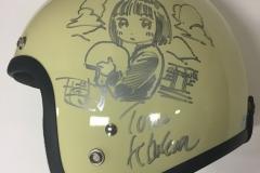 サイン入りヘルメット